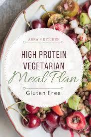 High Protein Vegetarian Meal Plan Abras Kitchen