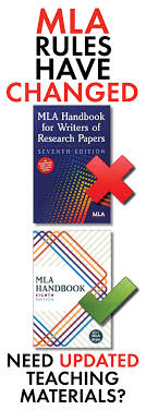 Current Mla Edition Mla Citation Lecture Handouts Mla 8th Edition In Text Citation