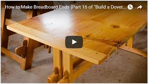 build a dovetail desk with hand tools