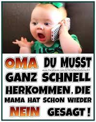Kinder Lustig Oma Sprüche Lustig Humor Und Baby Sprüche