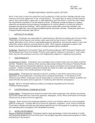 Resume For Correctional Officer Correctional Officer Resume Is