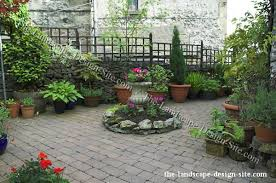 Small Picture Courtyard Patio Container Garden