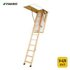 fakro ltk thermo energy efficient loft ladder 60cm x 120cm x 2 8m