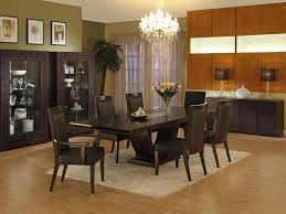 Dining Room Casual Black And White Dining Room Set  Piece With - Formal dining room sets for 10