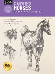 Drawing Horses Learn To Draw Step By Step How To Draw Paint Foster Walter 9781633227712 Amazon Com Books