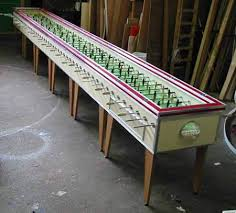 Miniature Wooden Foosball Table Game 100 Coolest Foosball Tables foosball tables Oddee 40