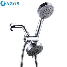 shower head and hand shower combo bathroom five function handheld shower combo system stainless steel hose shower head and hand