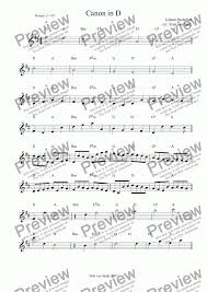 Join the email newsletter to get updates on free sheet music and more. Canon In D Lead Sheet Download Sheet Music Pdf File