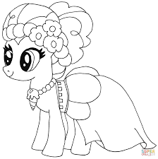 pinkie pie coloring page 9
