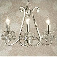 interiors 1900 oksana 3 light polished nickel chandelier ul1p3n