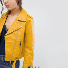 marie1199 7 hours ago rochester hills united states mustard yellow parisian leather jacket