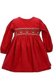 Amazon Com Bonnie Jean Baby Girls Holiday Christmas Dress