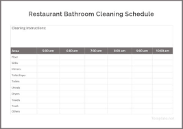 Bathroom Cleaning Flow Chart Restroom Cleaning Log Lamasa Jasonkellyphoto Co