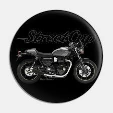 triumph street cup 18 black silver s