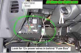 how to install a fuse box in a car 12 volt fuse block wiring adding a fuse to a fuse box at How To Connect Wire To Fuse Box