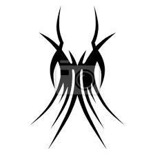 Fototapeta Tetovací Vzory Tetování Kosmických Vektorových Návrhů Tribal