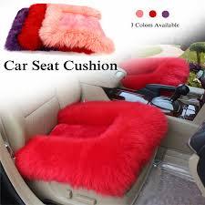 sheepskin car seat covers 1 pcs new car seat cover 100 woolen sheep fur plush