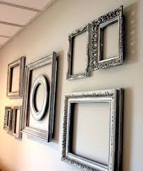 Empty picture frames on wall Bedroom Empty Picture Frame Wall Ideas Empty Frame Wall Home Decor Add Interest To Big Blank Empty Picture Frame Wall Ideas Techjunkiesclub Empty Picture Frame Wall Ideas Empty Picture Frames Quick Ideas For