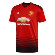 T-shirt Homem º United Adidas 1 De Equipamento Manchester Fc 2018-2019