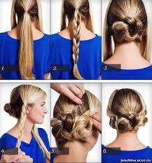 Lehké účesy Pro Dlouhé Vlasy