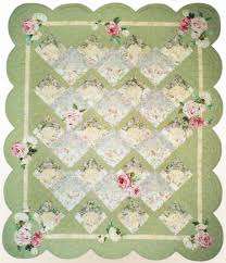 Small Picture Garden Trellis Quilt Patterns Quilters Showcase