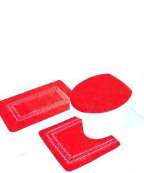 red bathroom rugs bath mat rug creative bright mats accessories r