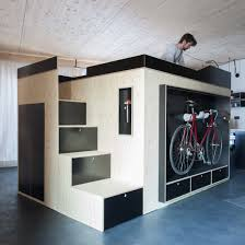 furniture that saves space. nils holger moormann creates spacesaving living cube for micro apartments furniture that saves space