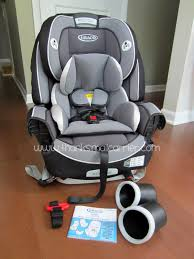 Graco 4Ever car seat Thanks, Mail Carrier | From Baby to Big Kid: 4-in-1 Car