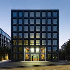 office building facade. Herostrasse Office Building / Max Dudler, © Stefan Müller Facade I