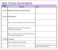 Sample Training Agenda Unique Workshop Agenda Template Slides Infodinero
