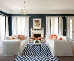 Navy Rug Living Room Living Room Interior Design Diane Bergeron Interiors