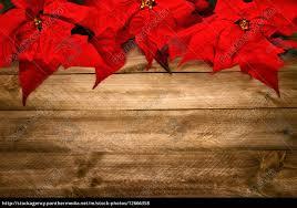 Stock Bild 12666358 Hintergrund Aus Holz Und Weihnachtsstern