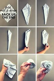 Paper Napkin Folding Flower 50 Attention Grabbing Napkin Folding Ideas That You Cannot