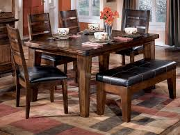 Kitchen Tables With Benches Dining Table With Bench Superb Kitchen Tables With Benches