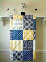 gray and yellow toddler bedding lovely baby quilt navy grey and yellow gender neutral crib quilt