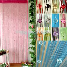 new arrive acrylic beaded string curtain fly insect door screen divider window blind d