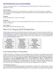 must to do thing in ielts writing task international english must to do thing in ielts writing task 2 international english language testing system essays