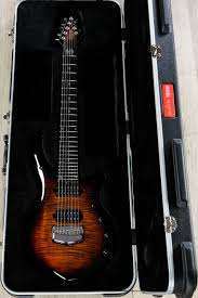 Features the majesty line of guitars is rife with varied wood combinations, body. Ernie Ball Music Man John Petrucci Majesty 7 String Tiger Eye 7 String Guitars Electric