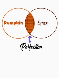 Pumpkin Venn Diagram Pumpkin Spice Venn Diagram Unisex T Shirt