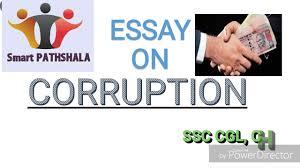 english essay on corruption for ssc cgl chsl and bank po english essay on corruption for ssc cgl chsl and bank po descriptive exams