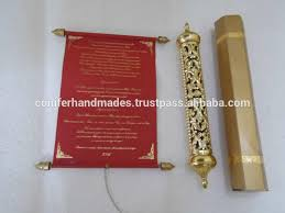 royal scroll wedding invitations with engraved gold elegant scroll wedding invitations