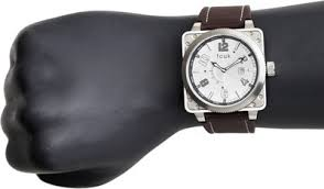 lowest price for fcuk analog watch for men brown price in fcuk analog watch for men brown price in