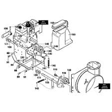 craftsman model 536886480 snowthrower, gas genuine parts Snow Blower Impeller Snow Blower Engine Diagram #13