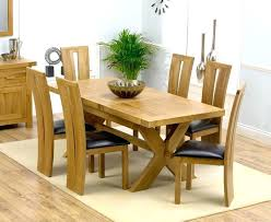 6 chair dining table lovely solid oak tables and chairs for your glass room seater uk