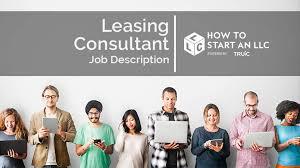 Leasing Consultant Job Description How To Start An Llc