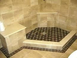 diy concrete shower floor tile shower pans build a tile shower flooring how to build concrete