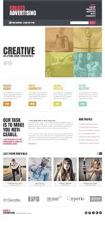 website advertisement template website templates business creato advertising agency advertisement