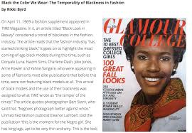 takeaways from mafs student rikki byrd s essay on racial  5 takeaways from mafs student rikki byrd s essay on racial diversity in the fashion industry