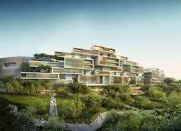 Ecological City Design Tianfu Ecological City Perimeter Sustainable City Big