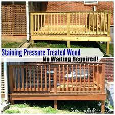 painting green treated wood water based stain after purchasing pressure treated wood painting pressure treated wood